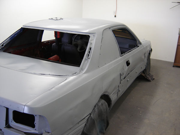 Primer on road runner stockcar